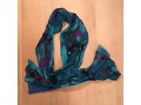 Light silk scarf