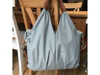 Laessig Change Bag, nearly new , skyblue, BARGAIN 😊