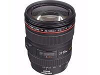 24-105 L Canon lens