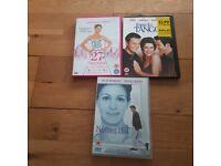 3 Rom com DVD's