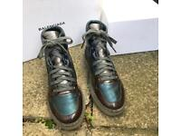 Balenciaga high top trainers size 2/35