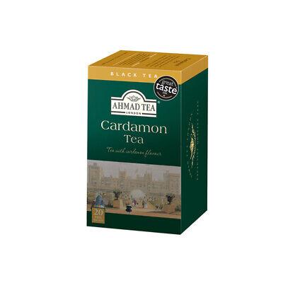 Cardamom Tea - AHMAD TEA CARDAMOM TEA 20 Tea Bags