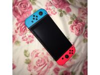 New Nintendo Switch with Mario Kart 8 Deluxe