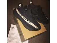Adidas Yeezy v2 Black/White Oreo Size 8 Authentic From Adidas website w/proof NEW