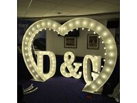 LED dance floor and MARQUEE LIGHTING hire