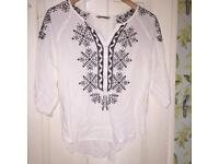 Ladies embroidered top for sale