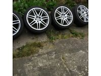 Hello! I have to sell the wheels of the Audi A4 (B7, B8) A6 S-line