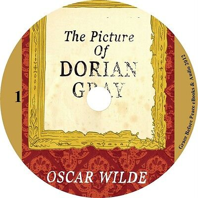 - Picture of Dorian Gray Oscar Wilde Audiobook Fiction English 1 MP3 CD Free Ship