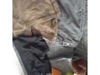 Bundle of women's smart trousers.