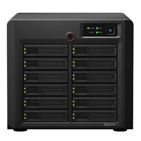 Synology DS2413+ DiskStation 12 Bay NAS + 4GB RAM Upgrade