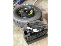 Firestone Ford Fiesta complete spare wheel Kit. Mk 7/8/9