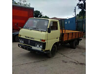 Left hand drive Toyota Dyna 300 6 tyres 3.5 Ton truck. MOT till 2017. On 6 studs.