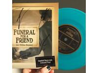 SIGNED Funeral For A Friend - Into Oblivion