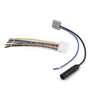 car stereo wire radio audio wiring harness cable fm