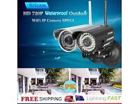 Sricam 720P H.264 Wifi Wireless ONVIF Home Security IRcut Night Vision IP Camera