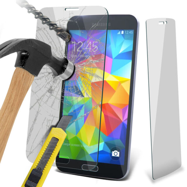 100% Genuine Tempered Glass Film Screen Protector for Samsung Galaxy S5 Neo