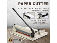 "Heavy Duty Steel 17"" Paper Cutter Perfect For A3 Paper"