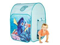 FINDING DORY POP UP PLAY TENT/WENDY HOUSE NEW AND BOXED