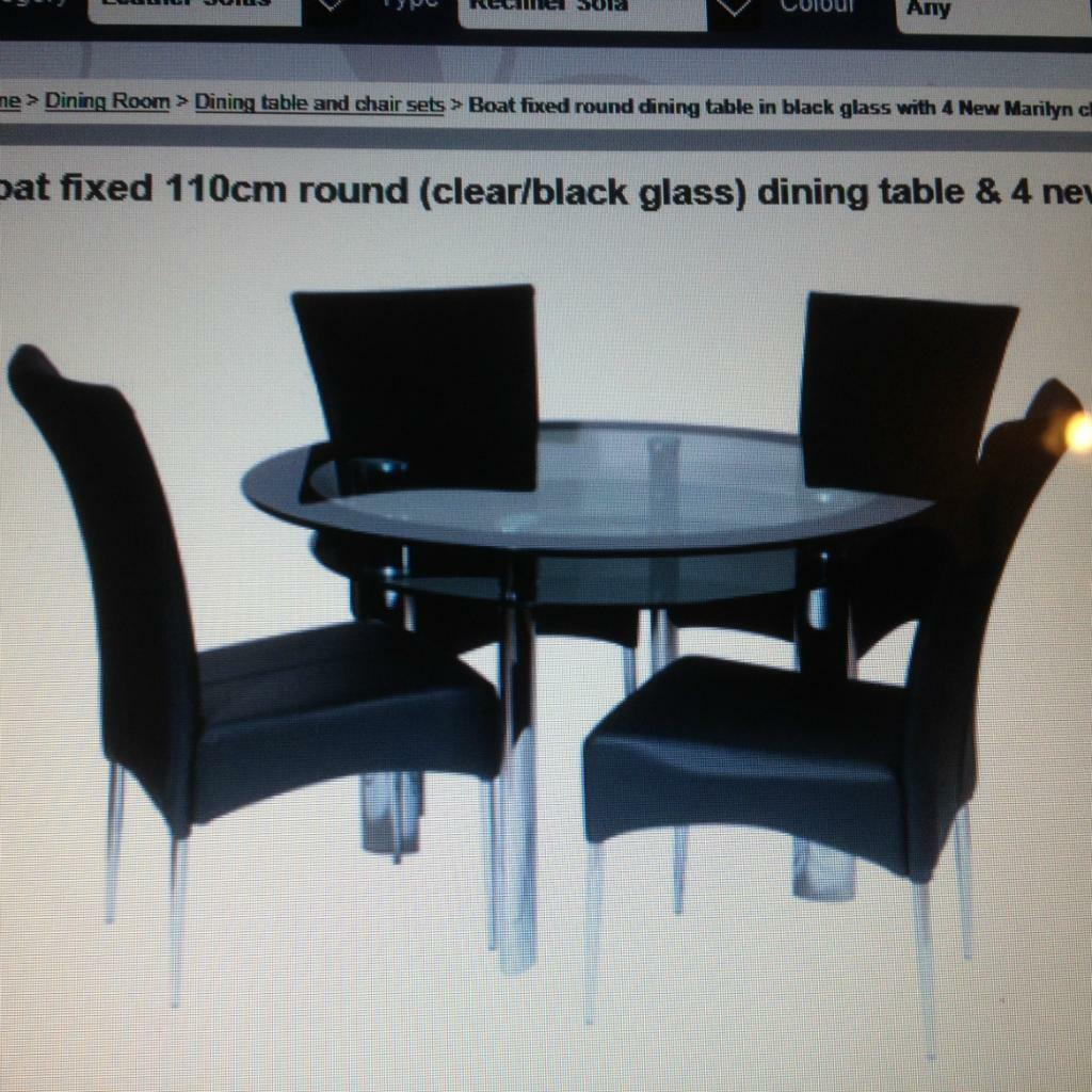 harveys dining table and 4 chairs united kingdom gumtree
