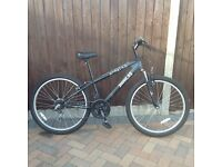 X Rated mountain bike 14 inch frame, 26 inch wheels in excellent condition