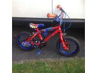 Kids Spider-Man bmx