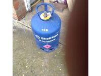 Empty butane 15 kg bottle