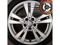 """17"""" Genuine A Class alloys Golf Caddy Leon excellent tyres."""