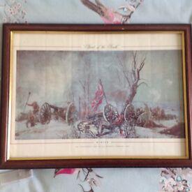 Job lot 3 Prints Framed of Spirt of the South 1861