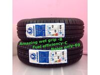 2*175 65 14 2 NEW SUNWIDE TYRES INCLUDING FREE FITTING FREE BALANCING ONLY £ 50 NEW TYRES 175 65 14