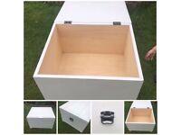 Light grey storage box