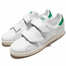 adidas Originals Fast Stan Smith White Green Mens Casual Shoes Sneakers S76662