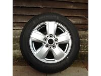 4 Mini alloy wheels and tyres