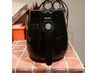 PHILIPS BLACK AIRFRYER ONLY USED ONCE