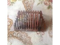 "Fire grate 2 legs 15"" good condition"