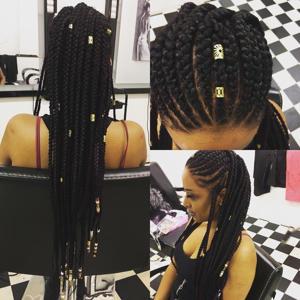 afro-Caribbean and European hair and beauty salon and