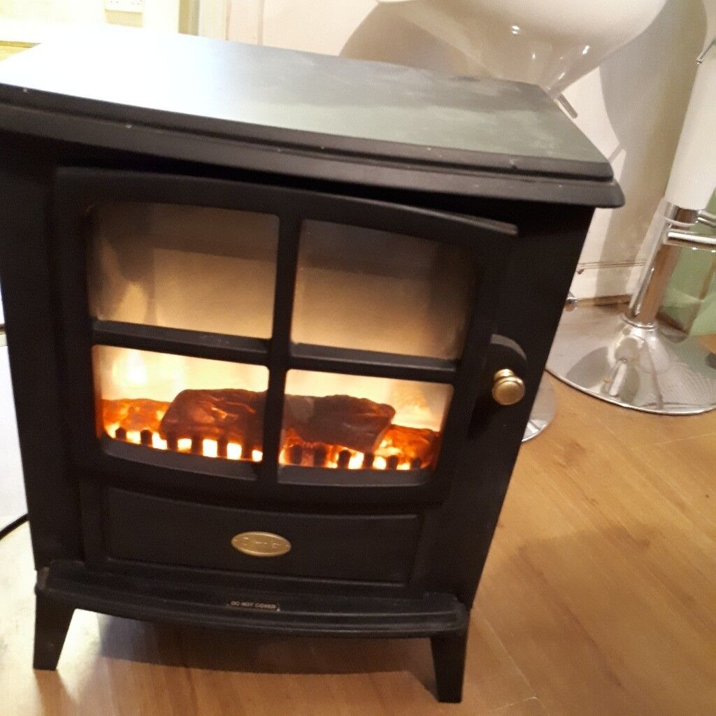 dimplex black lig effect electric stove cost £469 new