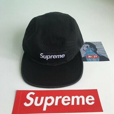 Supreme SS19 Washed Chino Twill Camp Cap BOX LOGO HAT CLASSIC BEANIE DENIM CDG S Cotton Chino Twill Cap