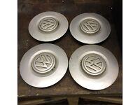 VW Steel wheel centre caps - Golf, Vento, Jetta, Bora, MK1, MK2, MK3