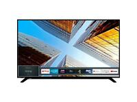 65 inch toshiba smart hd tv 4months old
