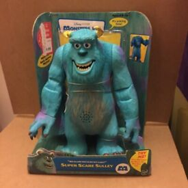 Disney Pixar Monsters Inc Super Scare Sulley Talking Monster