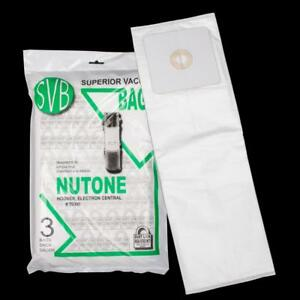 Broan Electron Sc190 Sc300 Sc600 Cx450 Svb Central Dustlock Bags Best Quality 3 Pack Multi Ply Hoover Canavac Fit All Eu