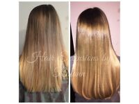 Fully qualified Hair Extension Technician covering local Herts & Beds areas