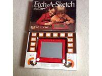 Etch A Sketch - Vintage Retro 1970-80s