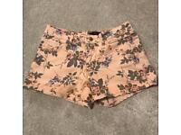 Women's Jane Norman Floral Shorts - Size 8
