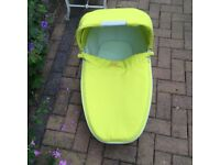 Quinny Buzz Carry Cot - yellow