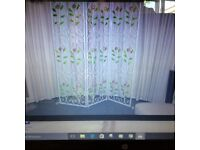 Italian made 3 fold wrought screen .