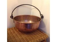 Vintage copper pan, lovely condition