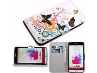 Pretty Flip Magnetic Stand PU Leather Card Pouch Cover Case For LG Optimus G3