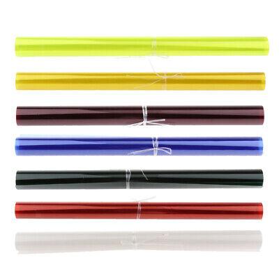 7x40 * 50cm voller Farbbalance Gel Filter Kit für Blitzlicht Blitzlicht Gel Filter Kit