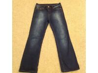 Oasis Scarlet Jeans - Size 12 Brand New
